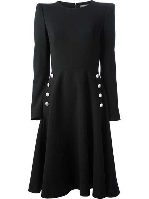Shop Alexander McQueen fitted waist dress in  from the world's best independent boutiques at farfetch.com. Over 1000 designers from 60 boutiques in one website.