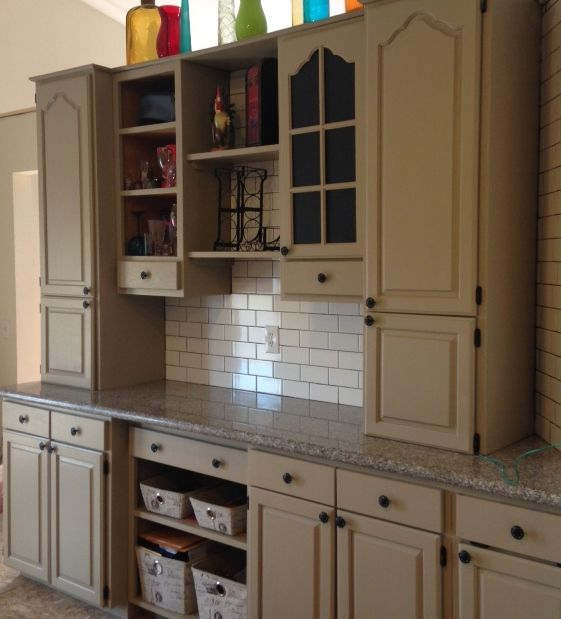 Painting Your Kitchen Cabinets Painting Kitchen Cabinets: RECLAIM Beyond Paint - Linen