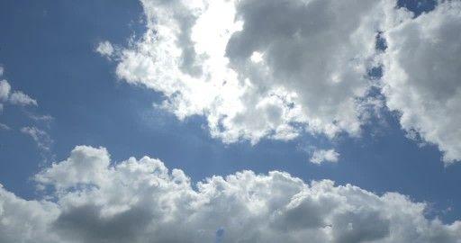 Cumulus, Rayon de Soleil, Soleil (Lumière), Ciel, Nuageux, Allemagne, Sans Personnage, Soleil (Temps ensoleillé), Jour,