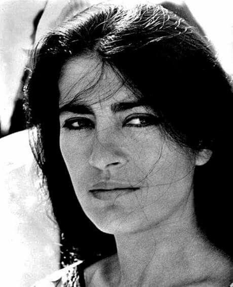 Irene Papas, the epitome of Greek beauty