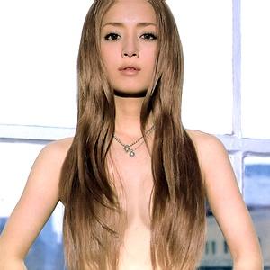 Ayumi Hamasaki, 2nd favourite japanese female artist. so plastic lol