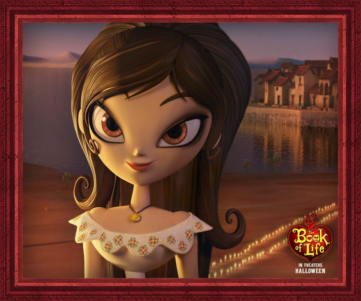 Everyone is after her heart, but Maria is after justice. And knowledge. And freedom. And if there's still time, then perhaps true love. #BookOfLife