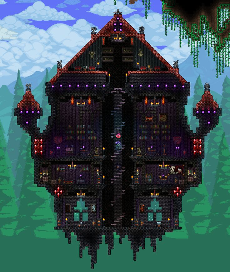 Pc Ballin Houses By Eiv: 1000+ Images About Terraria Inspiration On Pinterest