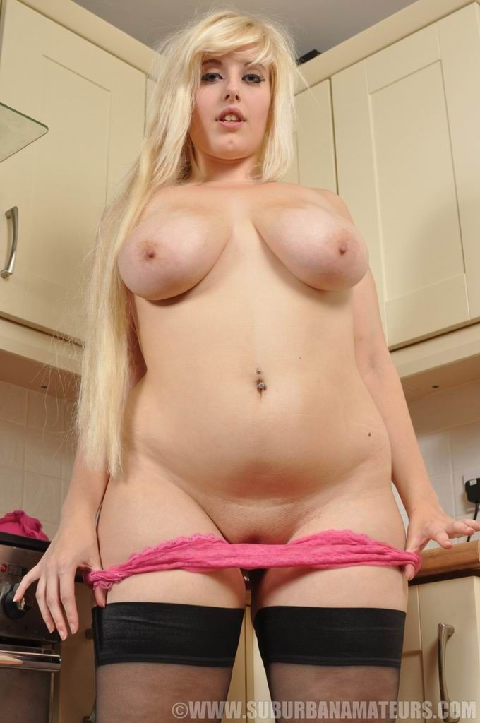 Fat blonde nude