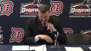 St. Bonaventure at Duquesne Men's Basketball Highlights (01/25/14 ...