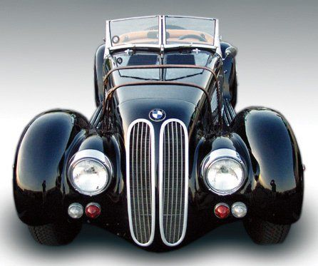1976 BMW ROADSTER 1938 FACTORY RE-CREATIO - Side Profile - 15757