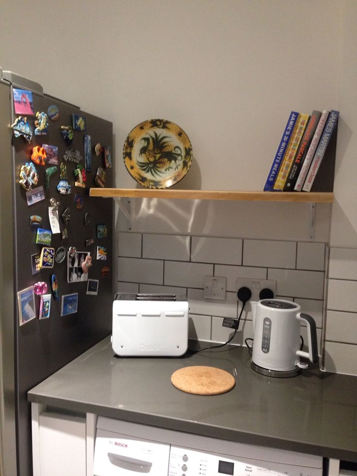 Shelf made from my old worktop