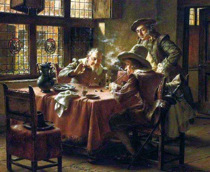 Fritz Wagner: The Dice Players, n.d.