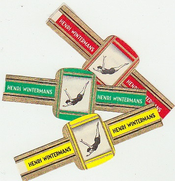 3 cigar bands olympic sport diving