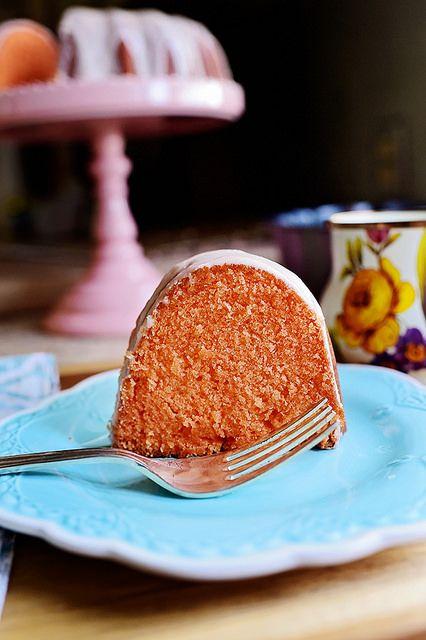 Orange Crush Cake. The name says it all!
