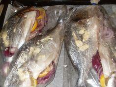 Hayal Alemi: Fırında çipura balığı