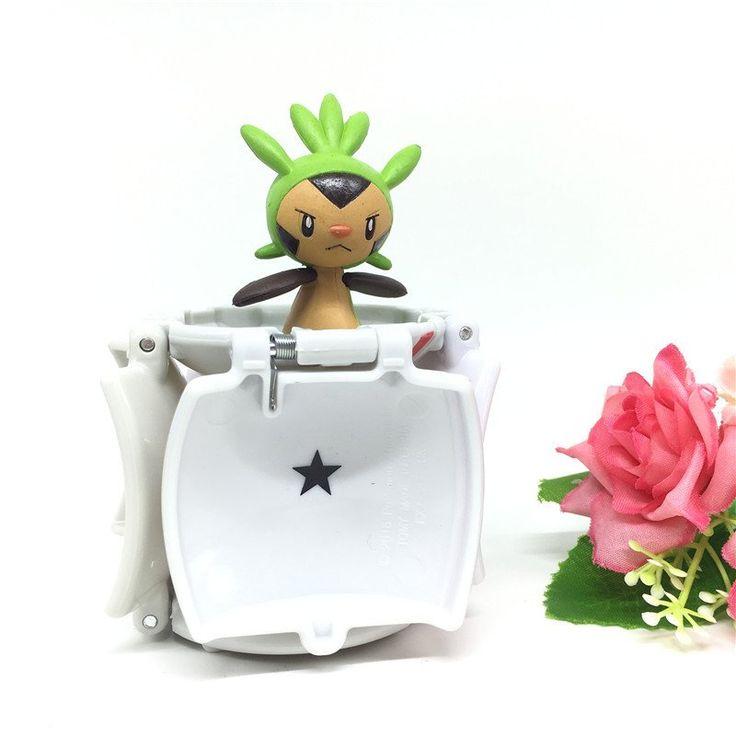 PokeBall Deformation with Pokemon Mini Action Figures