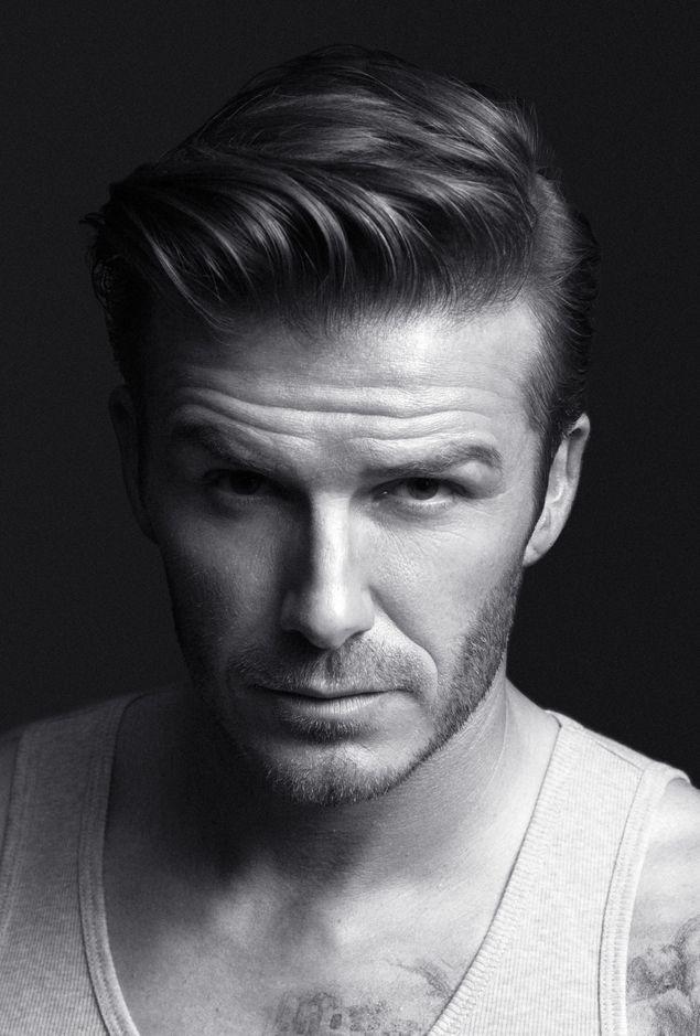 David Beckham always has awesome hair styles.