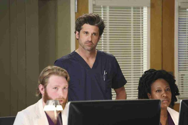 """Derek in Grey's Anatomy Season 10, Episode 17: """"Do You Know?"""""""