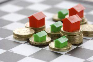 نرخ رشد قیمت خانه پایینتر از تورم
