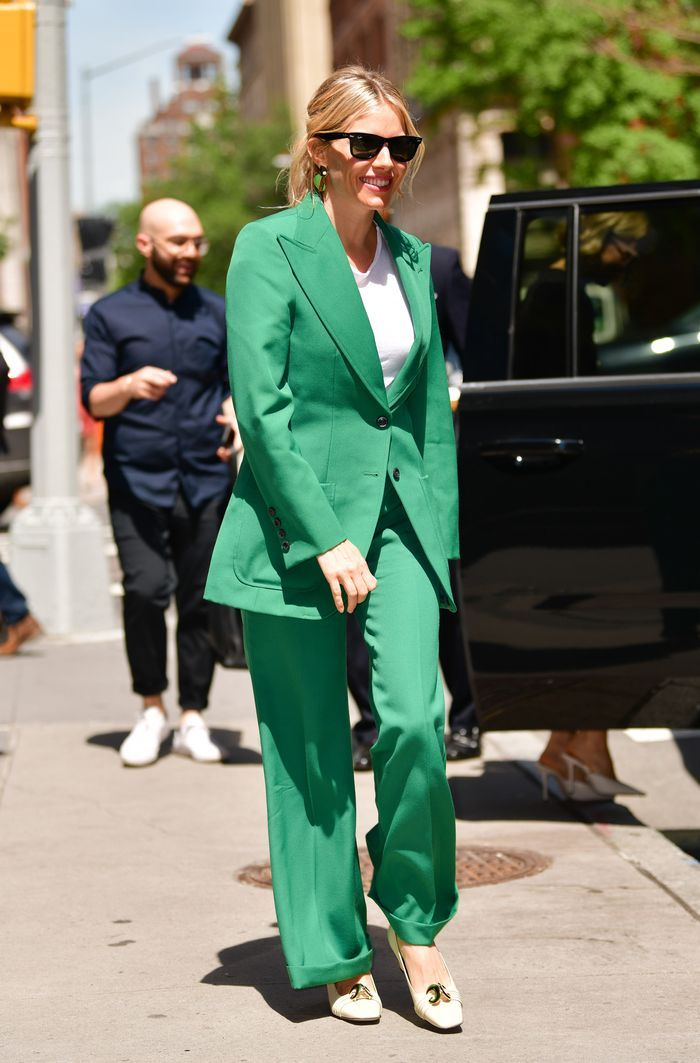 Sienna Miller Just Wore the Easy Summer Outfit That's All Over Zara and M&S
