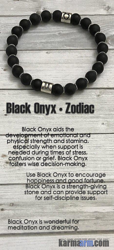 His & Hers Zodiac Astrological Sign Bracelets......Yoga Bracelet. Mens & Womens Meditation Bead Mala. Black Onyx Zodiac Hororscope birthstone.
