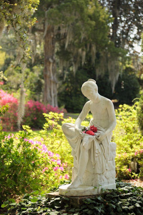 Wood Nymph Statue, Middleton Place Gardens, Charleston, SC