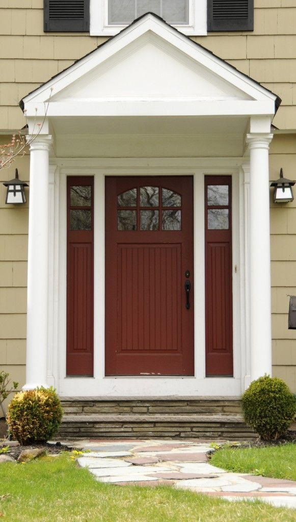 residential front doors red. 35 Different Red Front Doors (Many Designs \u0026 Pictures) Residential I