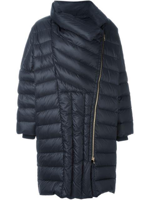 Lanvin свободное дутое пальто