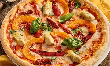 Zizzi Launches UK's First Vegan Pizza With Cheese Substitute