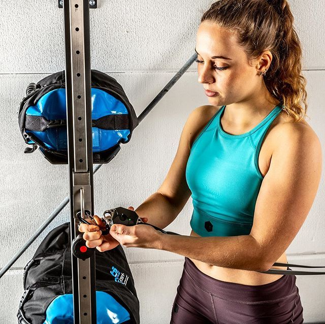 Powrlink Sensor Let S You Read Fitness Performance Data Anywhere Just Install It Between Anchor Point And No Equipment Workout Sandbag Training Fitness Tools