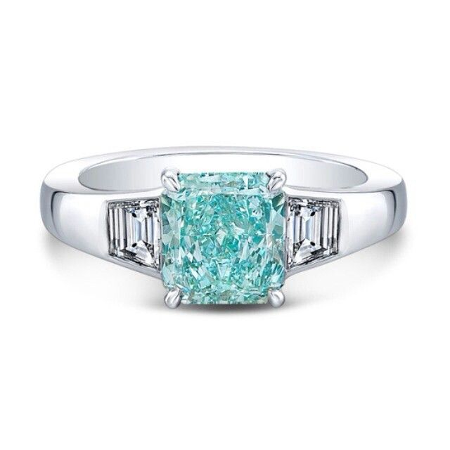 @frenchbluediamond.  --The Vivid Ocean-- Fancy Vivid Bluish Green - Rahaminov
