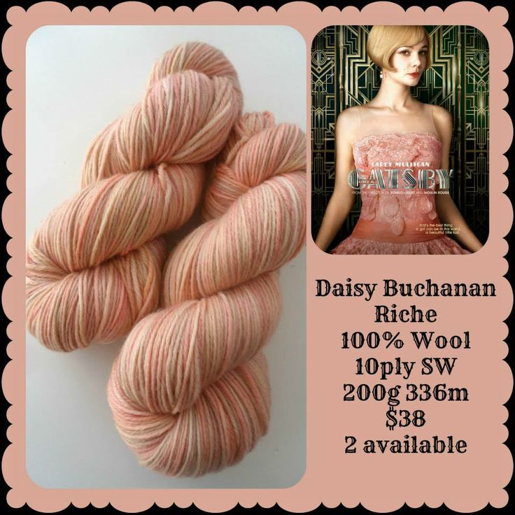 Daisy Buchanan - The Great Gatsby | Red Riding Hood Yarns