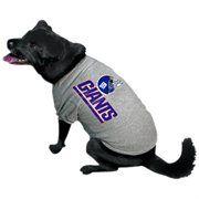 New York Giants Logo Pet T-Shirt - Ash #NFL #NFLDogProducts #NFLPetProducts #DogProducts #PetProducts #NewYorkGiants #NYGiants #NYGiantsDogs #NYGiantsPets #NewYorkGiantsDogs #NewYorkGiantsPets #Giants #Animals #Dogs #Pets #AdorabullBulldogs #PawsativeParents