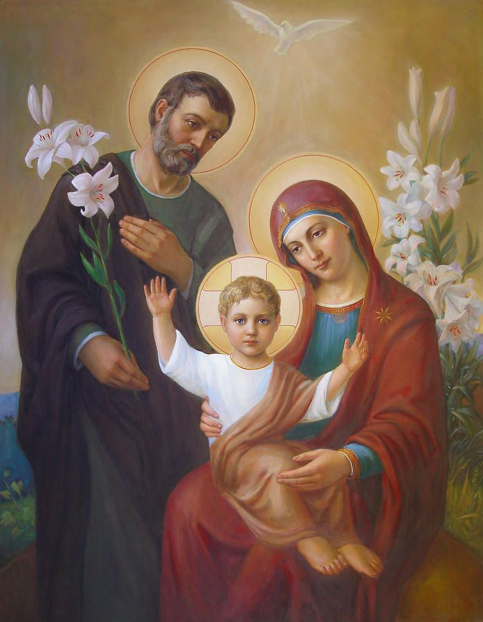 Святое семейство Живопись