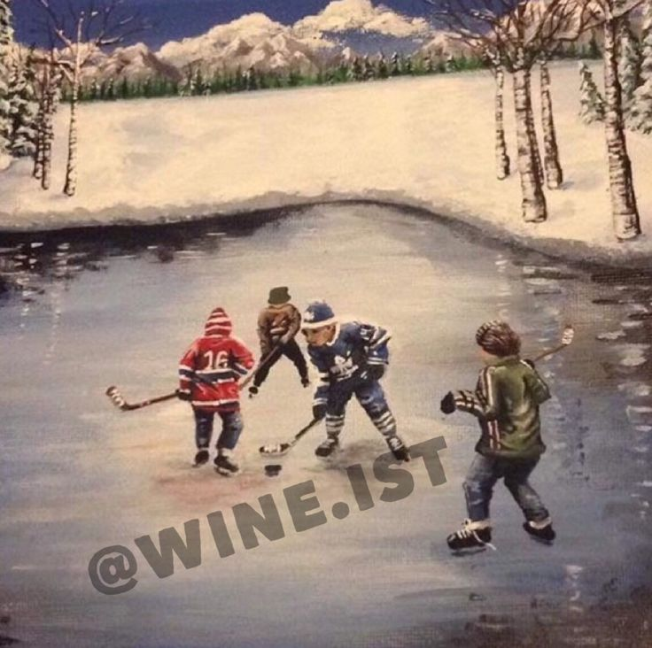 Excited to share the latest addition to my #etsy shop: Hockey Print, Winter, Fun, Wall Art, Home Decor, Wall Decor, Print, Gift