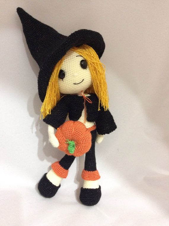 Amigurumi Witch Pattern : 290 best images about ? Crochet Knit Witches ? on ...