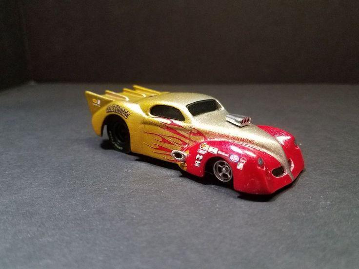 40s Willys pro mod slammed 4gear custom resin drag ho slot nitro afx aw aurora #Unbranded
