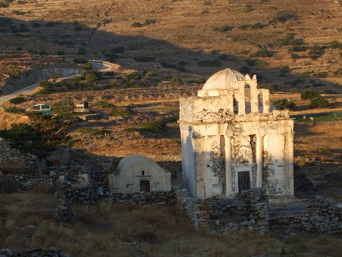 Old Church Built on Ancient Greek Ruins Episkopi