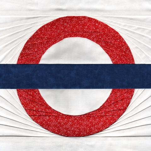 London Tube - Paper Piecing, by Soma