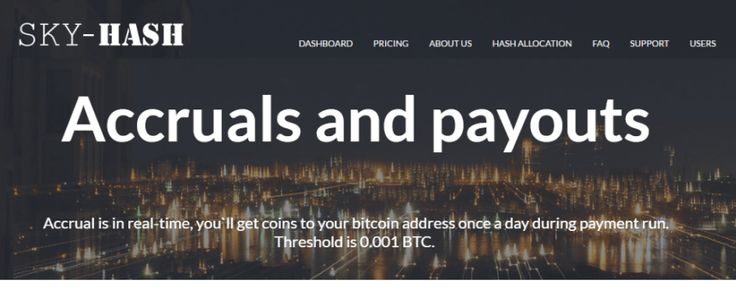 Bitcoin free: Sky-Hash site đào Bitcoin