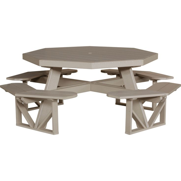1000 id 233 es sur le th 232 me octagon picnic table sur pinterest