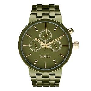 Olive or black or silver. Mimco sportivo watch!