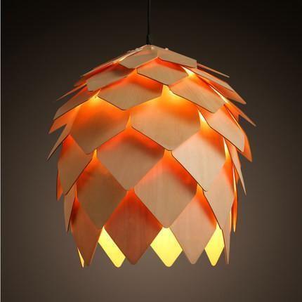 Brief Wooden Pendant Light Lustres De Sala Led Dinning Room Kitchen Pendant Lighting Restaurant Pendentes Para Sala De Jantar