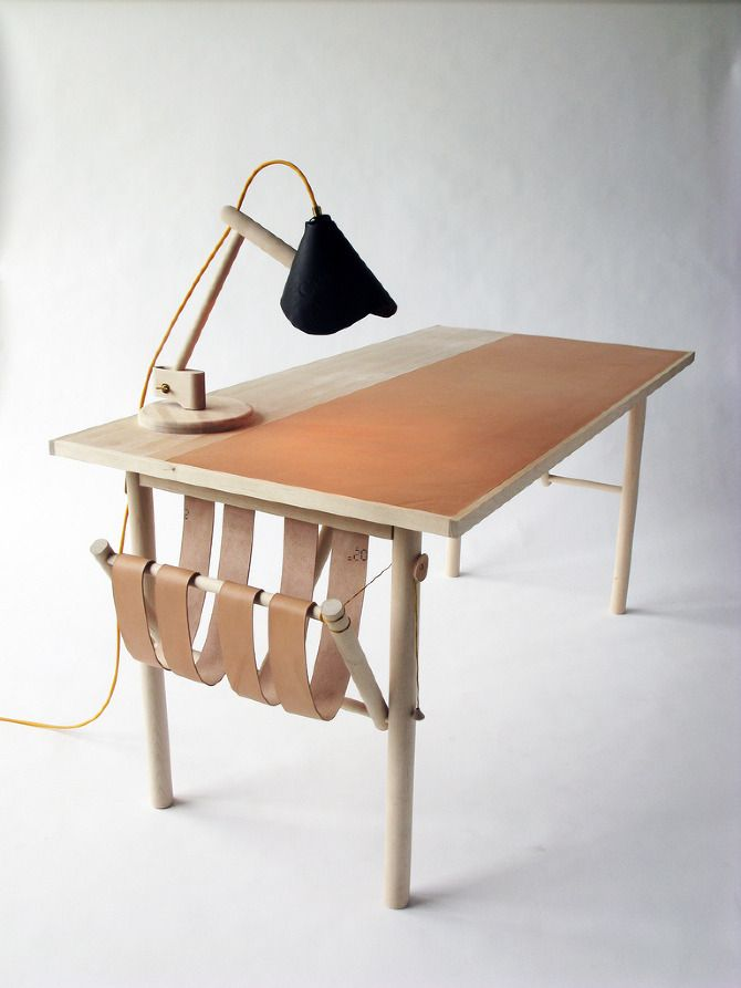 David Ericsson that little side hammock would be great for when i need to quickly clear my desk and put all my loose paper and books