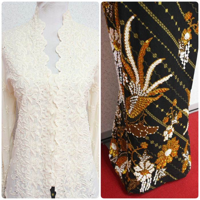 """Kebaya Karla II is now available in L and XL size (best for bust 38"""" and 40""""). Click here to find out where to buy."""