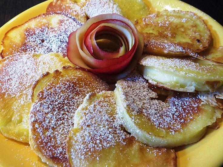 Apfelringe im Teigmantel, ein tolles Rezept aus der Kategorie Snacks und kleine Gerichte. Bewertungen: 98. Durchschnitt: Ø 4,3.