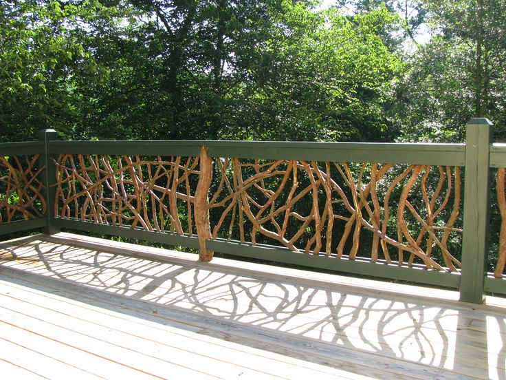 36 Best Rustic Deck Path Railings Images On Pinterest