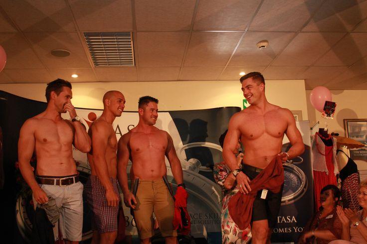 Stunning male models