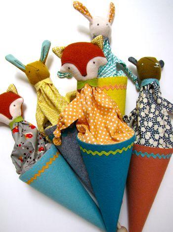 pop-up puppets!