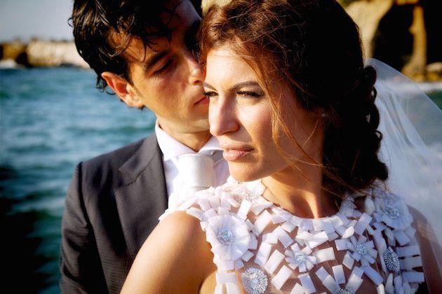 Incredible Sunset Beach Club Wedding in Italy