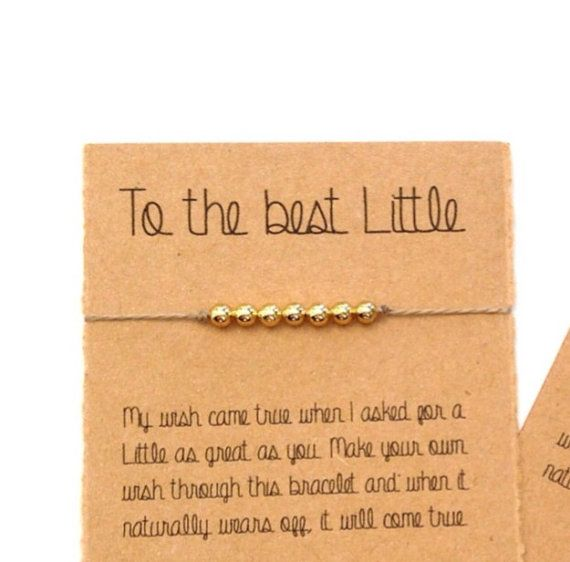 Sorority Bracelet Big Little Custom Sorority Gifts by VerseShop