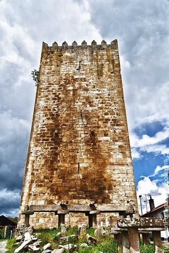 Torre_de_Lapela_Monçao #Portugal
