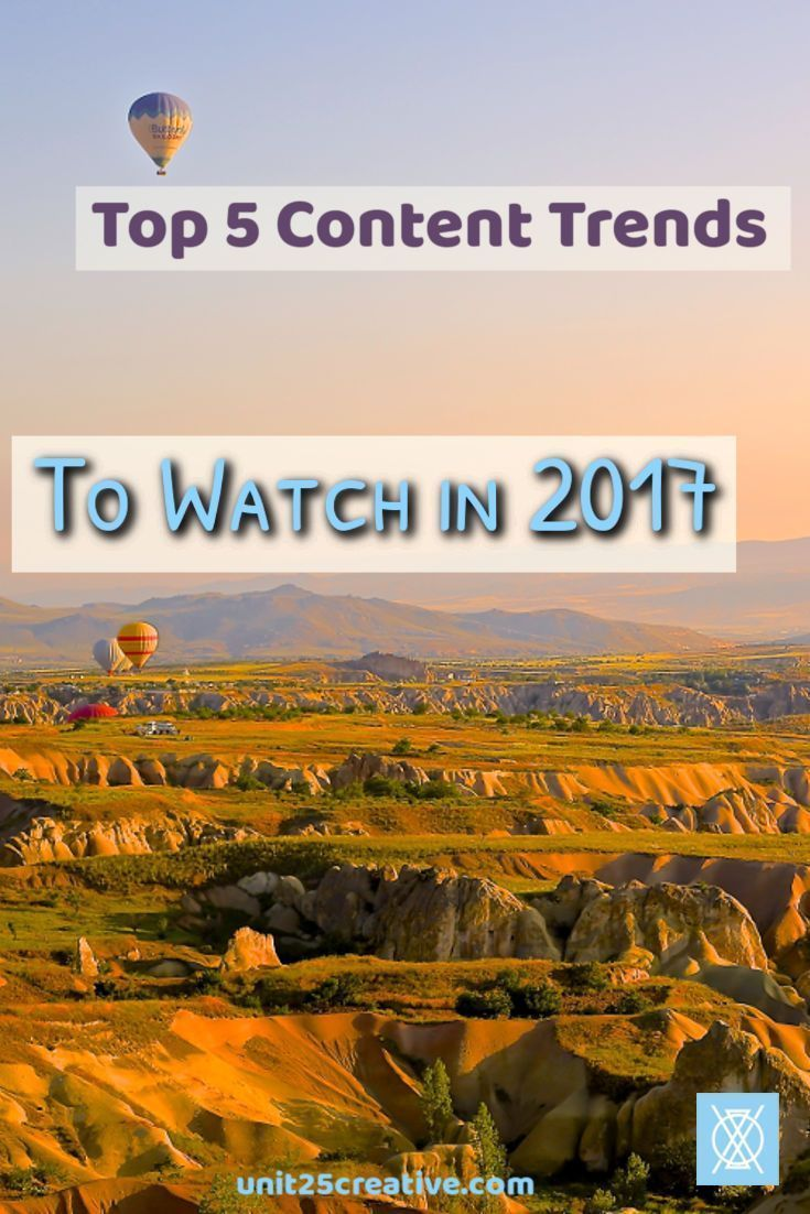 If you're ready to up your blogging game, you need to watch these top 5 trends in 2017. From diversifying your content to gamifying your audience, these are the best trends of the year!  strategy, ideas, tips, tricks, how to, plan, writing, beginner, content marketing, content strategy, effective, success, succeed, entrepreneurship, entrepreneur, small business, business, rules, viral, create #contentmarketing2017