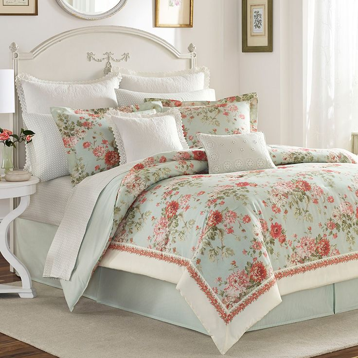 Laura Ashley Vivienna Comforter Set from Beddingstylecom